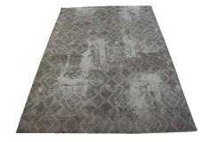 Dywany Avanti chennille patchwork Vintage brązowy 160x230cm poliester szenil