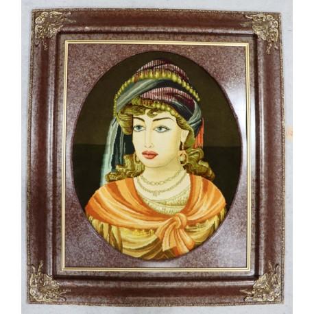 Dywan Tabriz 50Raj wełna kork najwyższej jakości i jedwab dywan z Iranu obrazowy