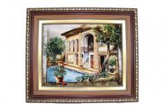Dywan Tabriz 60Raj wełna kork najwyższej jakości i jedwab dywan z Iranu obrazowy Chelle Arrisham