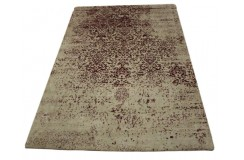 Dywan Luxor Living Amritsar 506 jagodowy 100% wiskoza 170x240cm vintage ręcznie tkany jedwab