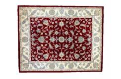 Dywan Persian Ziegler 100% wełniany 240x300cm z Indii klasyczny czerwony gruby Indie