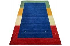 Kolorowy ekskluzywny dywan Gabbeh Loribaft Indie 200x300cm 100% wełniany