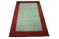 Nowoczesny dywan indyjski Gabbeh 100% wełna 120x180cm kolorowy