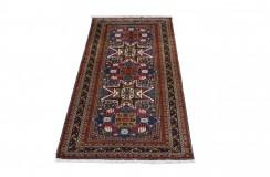 Kaukaski gęsto tkany 50-letni dywan Szyrwan Rosja/Azerbejdżan 120x228cm unikat