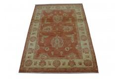 Pastelowy luksusowy dywan Ziegler oryginał piękny ręcznie tkany dywan 110x150cm