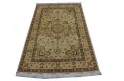 Złoto czerwony luksusowy dywan Ziegler oryginał piękny ręcznie tkany dywan 120x180cm