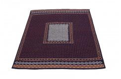 Antyk gobelin Sumak z Iranu ręcznie wykonany wełna 135x146cm