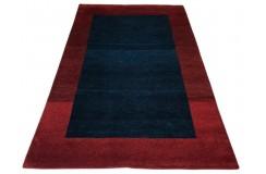 Nowoczesny dywan indyjski Gabbeh 100% wełna 120x180cm brązowy