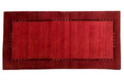 Dywan Luxor Living Nepal premium 100% WEŁNA 70x140cm czerwony
