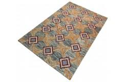 Kolorowy dywan vintage RUG COLLECTION do salonu 100% wełniany 150x240cm Indie