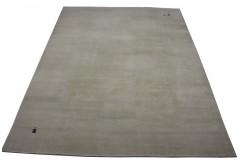 Beżowy luksusowy elegancki dywan Gabbeh Loribaft Indie 280x350cm gruby gęsty i miękki