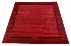Dywan Luxor Living Nepal premium 100% WEŁNA 190x195cm czerwony kwadratowy