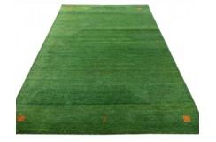 Zielony dywan Gabbeh Olinda Luxor Living  wełna argentyńska 170x240cm