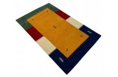 Kolorowy ekskluzywny dywan Gabbeh Loribaft Indie 90x160cm 100% wełniany