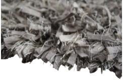 W pasy dywan wełna filcowana i poliester tanio 165x235cm shaggy z Indii