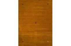 Gładki 100% wełniany dywan Gabbeh Handloom żółty/pomarańczowy 170x240cm etniczny