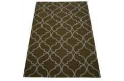 Marokańska koniczyna dywan RUG COLLECTION do salonu 100% wełniany 150x240cm Indie