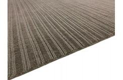 Gładki 100% wełniany dywan Gabbeh Lori Premium Handloom oliwkowy 150x230cm tłoczenia w pasy