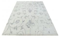 100% welniany ręcznie tkany dywan Nepal Premium naturalny 160x230cm vintage