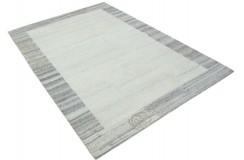 100% welniany ręcznie tkany dywan Nepal Tybet 160x230cm nowoczesna kolorystyka jasny