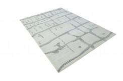 100% welniany ręcznie tkany dywan Nepal Premium naturalny 140x200cm vintage nowoczesny