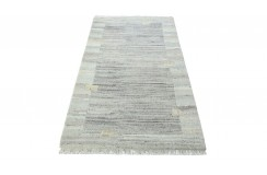 100% welniany ręcznie tkany dywan Nepal Premium beżowy 90x160cm deseń klasyczny