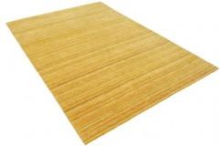 Złoty cieniowany ekskluzywny dywan Gabbeh Loom Indie 170x240cm 100% wełniany