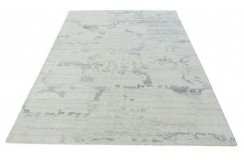 100% welniany ręcznie tkany dywan Nepal Premium naturalny 160x220cm vintage nowoczesny