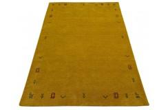 Pomarańczowy ekskluzywny dywan Gabbeh Loribaft Indie Etniczny 140x200cm 100% wełniany