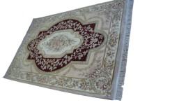 Piękny dywan Aubusson Habei ręcznie tkany z Chin 170c250cm 100% wełna przycinany rzeźbiony rajski ogród