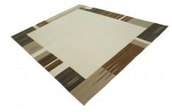 100% welniany ręcznie tkany dywan Nepal Premium beż brąz 250x300cm klasyczny