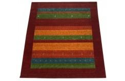 Kolorowy ekskluzywny dywan Gabbeh Loribaft Indie 250x300cm 100% wełniany kolorowy