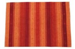 Kolorowy czerwony ekskluzywny dywan Gabbeh Loribaft Indie 140x200cm 100% wełniany