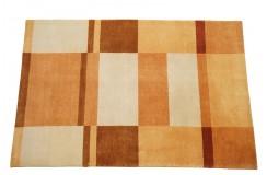 W pasy nowoczesny dywan Gabbeh Handloom Lori 100% wełna pomarańczowy 120x180cm