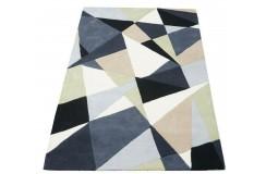 Nowoczesny kolorowy dywan do salonu 100% wełniany tafting 160x230cm