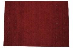 Czerwony ekskluzywny dywan Gabbeh Loribaft Indie 170x240cm 100% wełniany kolorowy