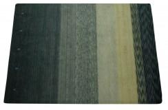 Niebieski ekskluzywny dywan Gabbeh Loribaft Indie 170x240cm 100% wełniany kolorowy