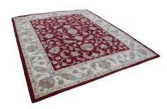 Dywan klasyczny kwiatowy Persian Ziegler 100% wełniany 240x300cm z Indii czerwony gruby Indie