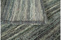 Szary, zielony, niebieski cieniowany ekskluzywny dywan Gabbeh Loom Indie 170x240cm 100% wełniany