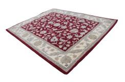 Z beżowym pięknym obramowaniem - klasyczny dywan Persian Ziegler 240x300cm Indie