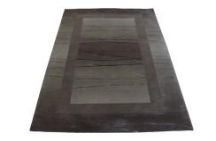 Wissenbach najwyższa jakość i klasa 100% WEŁNA + JEDWAB Wissenbach Linea 1012 silver kwadrat 180x180cm