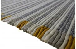Luksusowy dywan Brinker Carpets Leman zaplatany z wełny filcowanej kolorowy160x230cm gruby