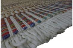 Luksusowy dywan Brinker Carpets zaplatany z wełny filcowanej kolorowy 160x230cm gruby