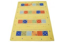 Geometryczny kolorowy dywan do salonu 100% wełniany tafting 160x230cm
