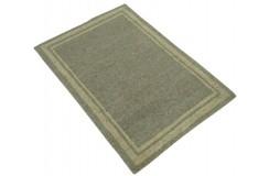 100% welniany ręcznie tkany dywan Nepal Premium szary 60x90cm deseń