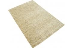Z deseniem nowoczesny dywan Gabbeh Handloom Lori 100% wełna beżowy 120x180cm