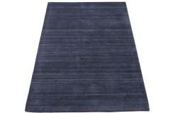 Purpurowy dywan z deseniem do salonu 100% wełniany tafting 160x230cm
