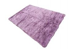 Gruby ciepły dywan shaggy 100% poliester 170x240cm różowy Indie