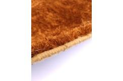 Miedziany gęsto ręcznie tkany shaggy 100% poliester 140x200cm Indie