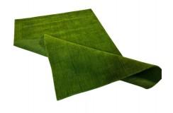 Gładki  dywan Gabbeh Handloom Lori wełna zielony 120x180cm
